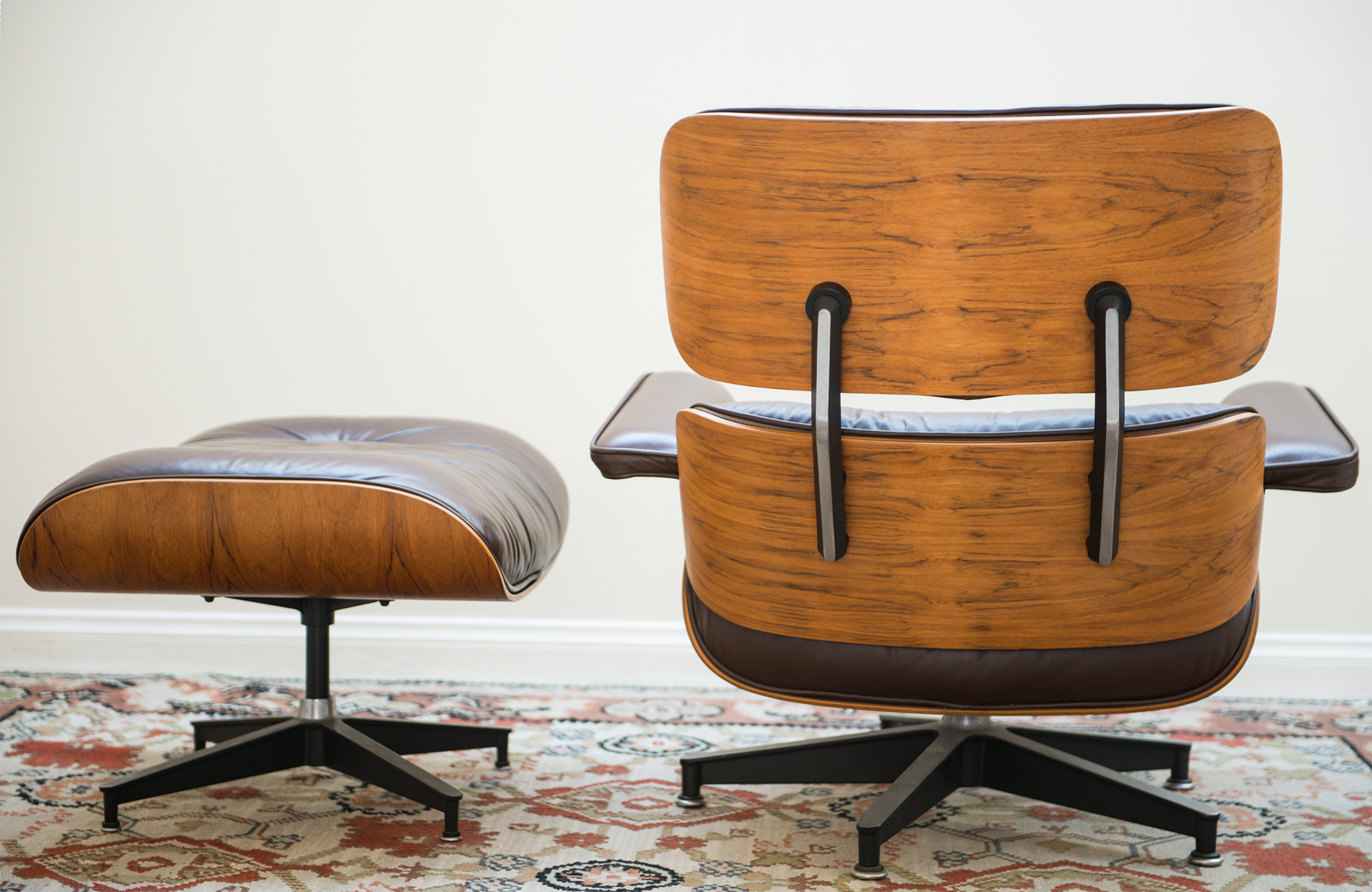Merveilleux 1976 Vintage Herman Miller Eames Lounge Chair U0026 Ottoman For Sale   Image 5  Of 11