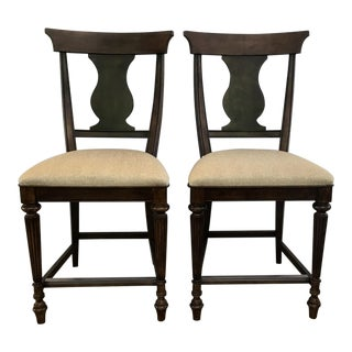 Counter Stools - A Pair For Sale