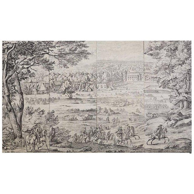 French Provincial Toile De Jouy Textile Panels For Sale - Image 13 of 13