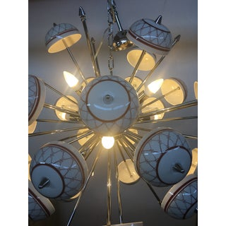 Italian Hand Made Painted Ceramic Sputnik Chandelier Preview