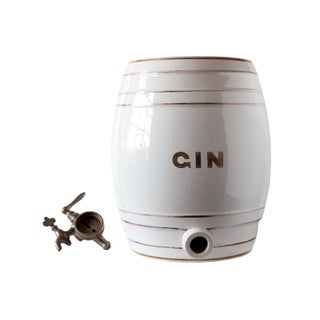 Vintage Gin Dispenser For Sale