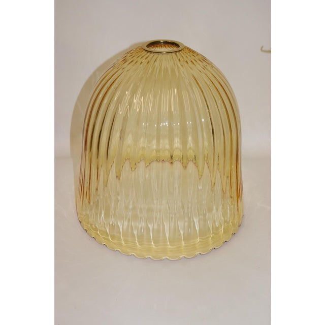 Glass Rare Mid-Century Modern Murano Glass Table Lamp For Sale - Image 7 of 13