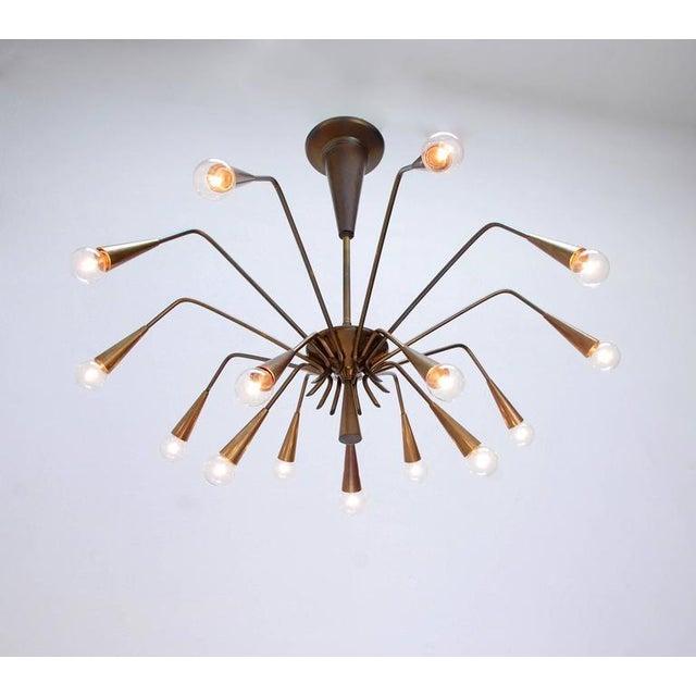Lumi Sputnik Chandelier by Lumi For Sale - Image 4 of 10