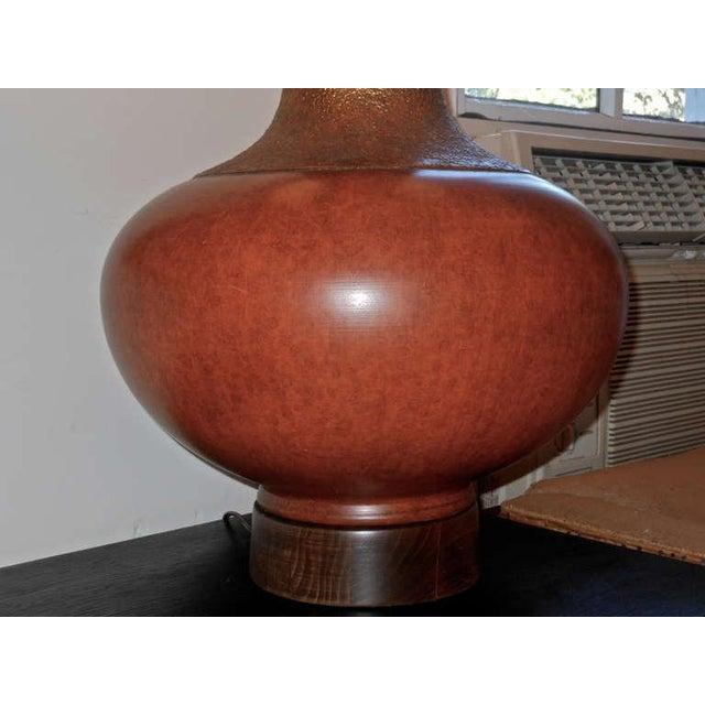 Sensational, Large Scale Pair of Ceramic Lamps - Image 5 of 7