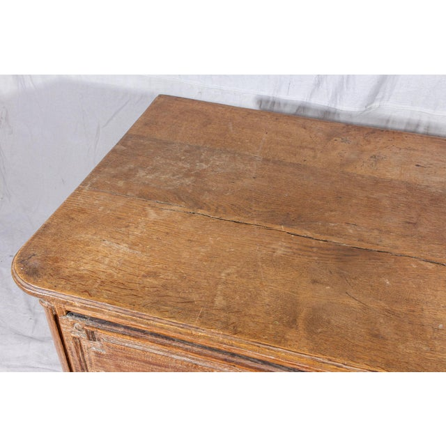 Wood 18th Century French Distressed Finish Three-Drawer Commode For Sale - Image 7 of 13
