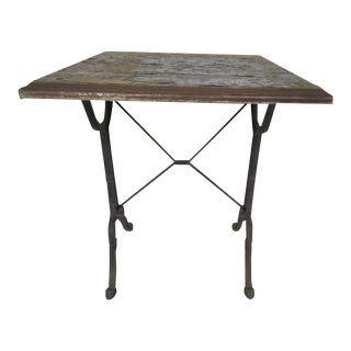 Old bistro table For Sale