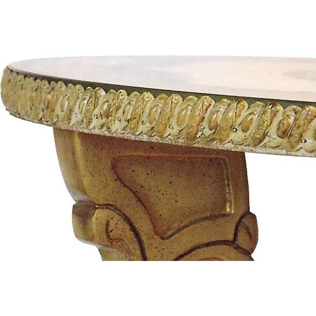 Glass Top Occasional Table For Sale - Image 4 of 7
