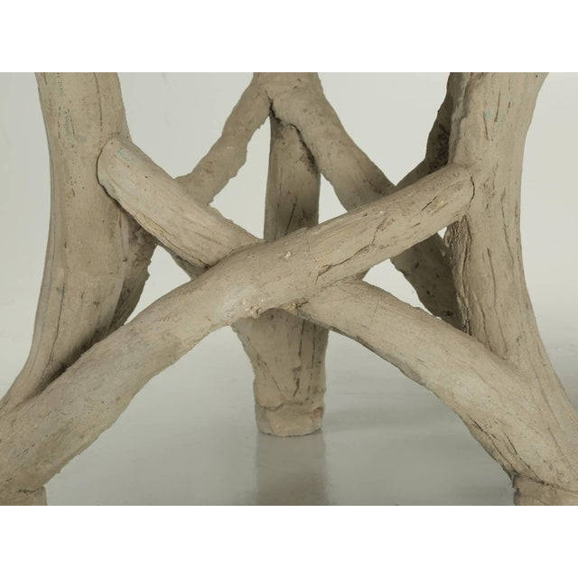 Concrete Faux Bois Table Attributed to Edouard Redont, Circa 1900 For Sale - Image 7 of 10