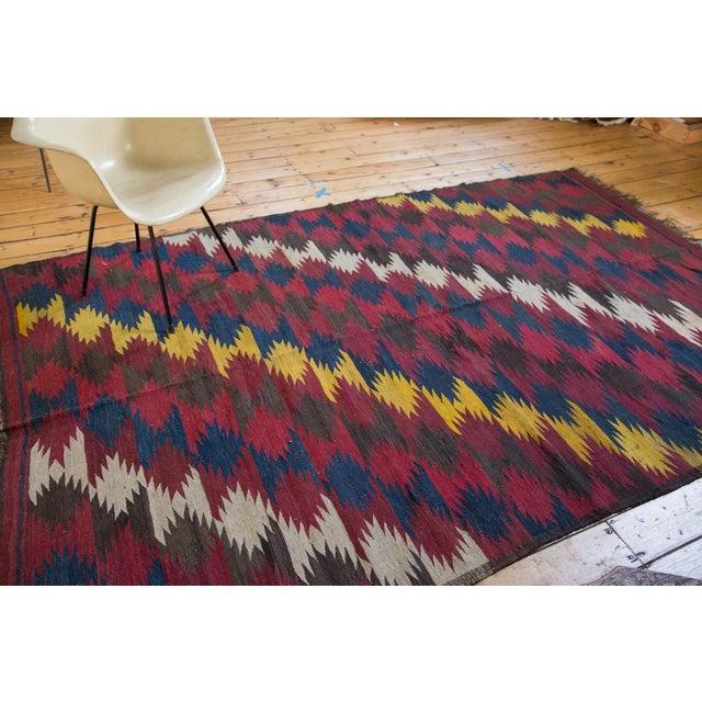 "Vintage Kilim Carpet - 6'4"" X 9'10"" - Image 2 of 6"