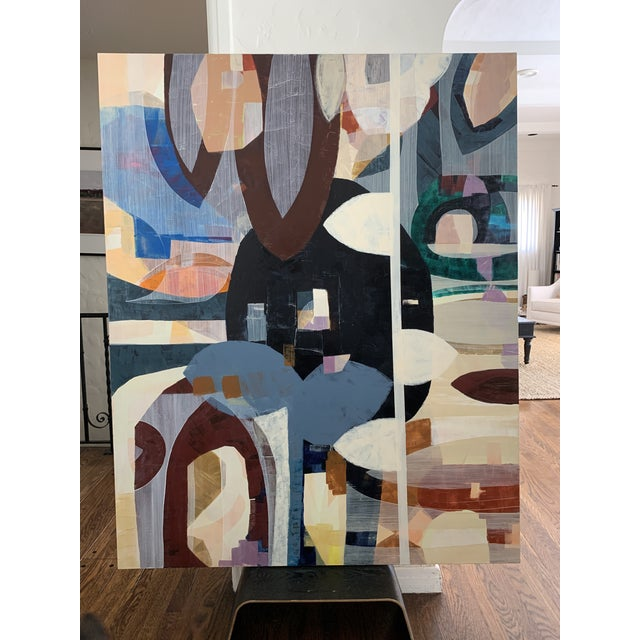 Large Scale Original Abstract Acrylic Painting For Sale In Los Angeles - Image 6 of 6