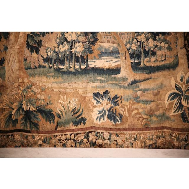 Circa 1760 Aubusson Tapestry For Sale - Image 9 of 10
