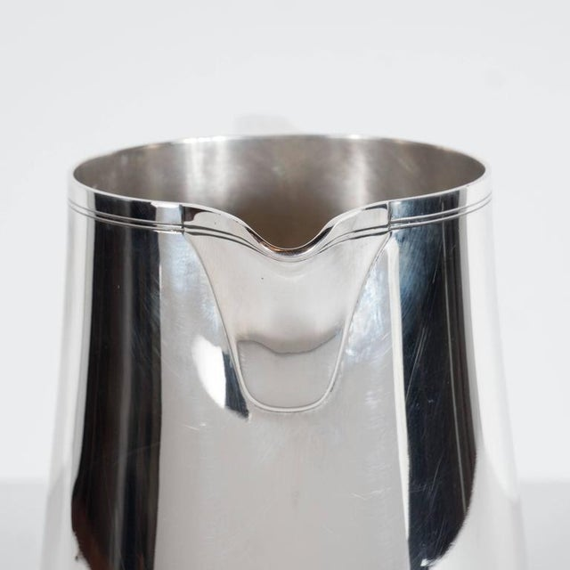 Fine Tiffany and Company Sterling Silver Pitcher For Sale - Image 9 of 10