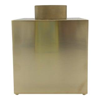 Matte Gold Tissue Box For Sale