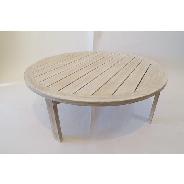 Custom Teak Coffee Table Chairish