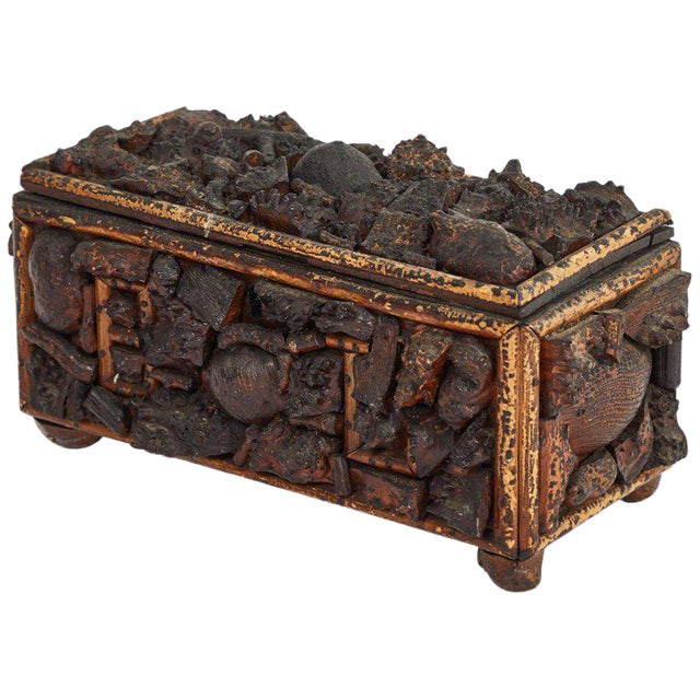 Early 19th Century Naive Box For Sale