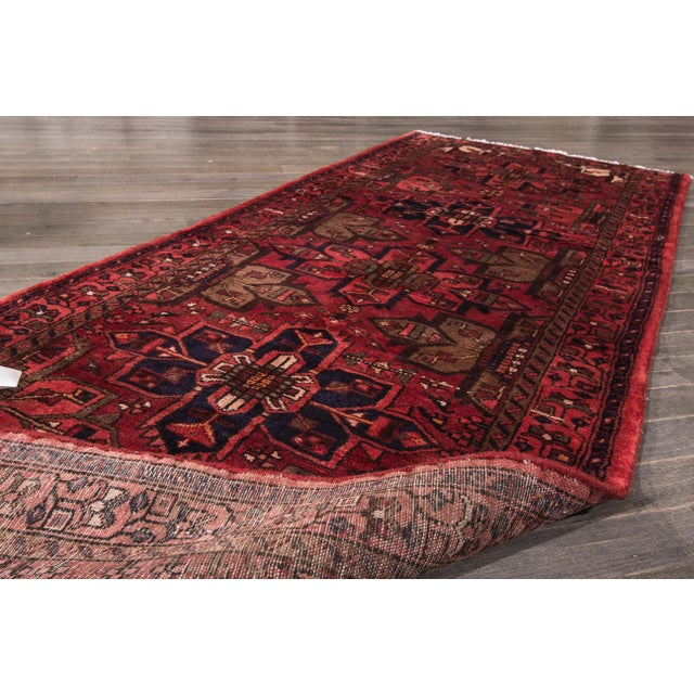 """Apadana - Vintage Persian Rug, 3'5"""" x 9'7"""" - Image 3 of 7"""