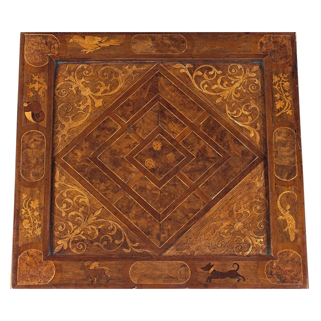 17th Century 17th-Century German Games Box For Sale - Image 5 of 8