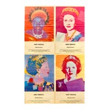 Image of 1980s Andy Warhol Queens Advertisements - Set of 4 For Sale