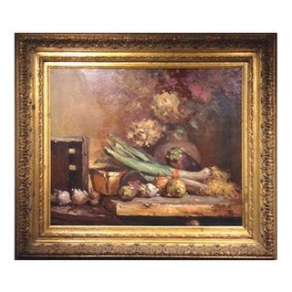 John C. Traynor, Hydrangeas on the Table Painting For Sale