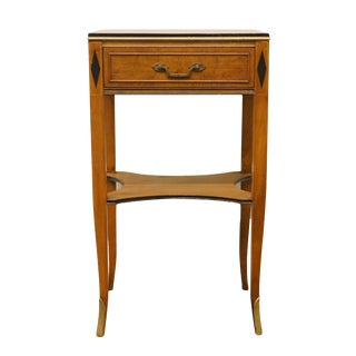"20th Century Italian Provincial Rway / Northern Furniture 16"" Nightstand For Sale"