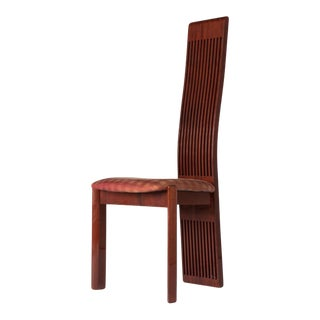 1970s Vintage Pietro Costantini High Back Chair For Sale