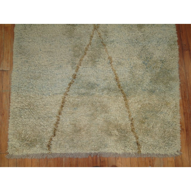 Turkish Tulu Shag Rug -- 4'6'' x 7'4'' - Image 5 of 6