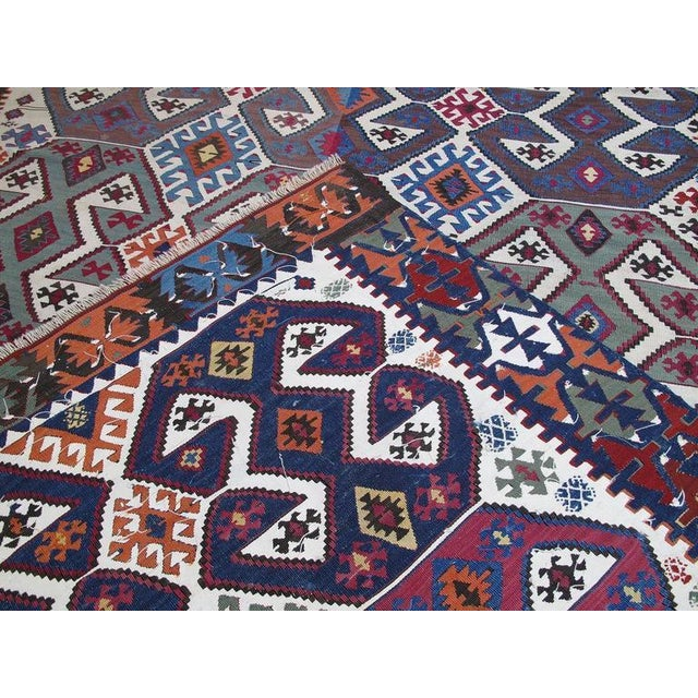 Antique Aksaray Kilim For Sale In New York - Image 6 of 10