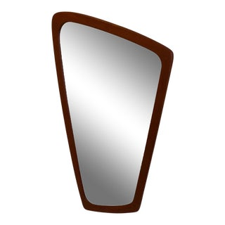 Vintage Danish Teak Aarhus Glasimport Mirror For Sale