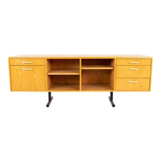 Mid Century Modern Style Wooden Credenza For Sale