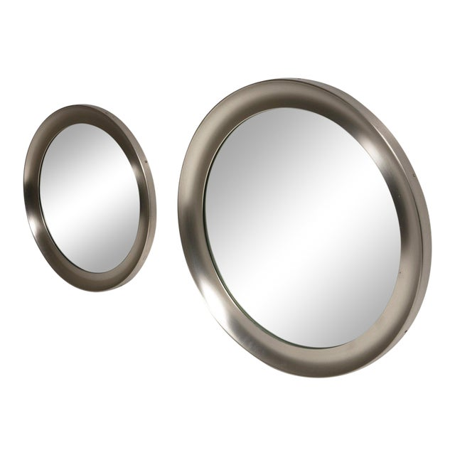 """Pair of """"Narcisso"""" Wall Mirrors by Sergio Mazza for Artemide For Sale"""