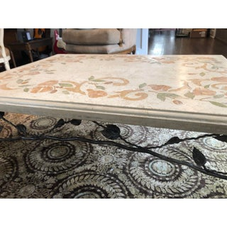 Arts and Crafts Ceramic Hand Painted Coffee Table Preview