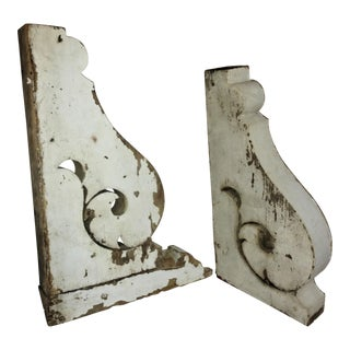 Large Victorian Architectural Salvage Corbels - A Pair