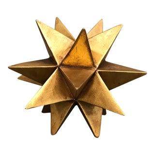 Decorative Gold Star Figurine For Sale