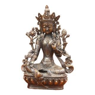 Mahayana Tara Bronze Statue For Sale