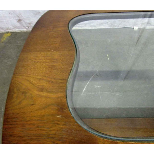 Mid-Century Style Wood End Table For Sale - Image 4 of 7