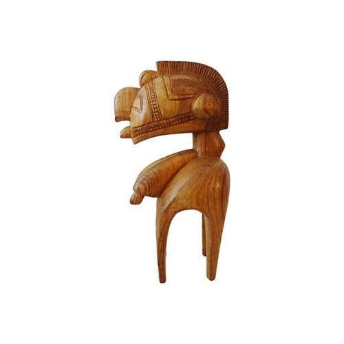 Vintage African Baga Nimba Kingwood Sculpture For Sale In New York - Image 6 of 7