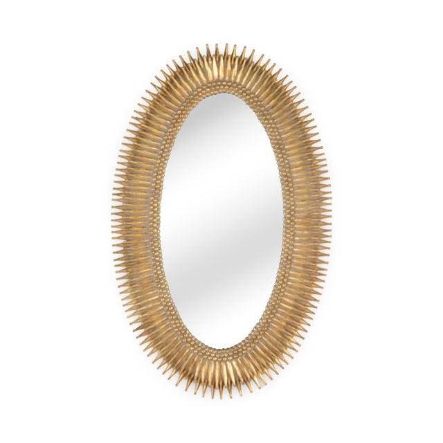 Lucius Mirror in Gold