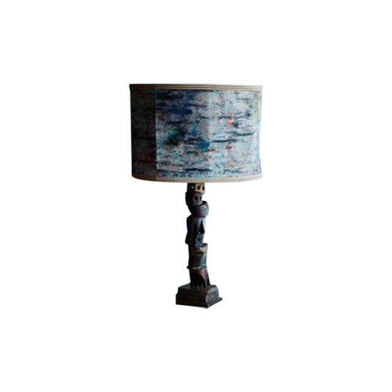 Martyn Thompson The Quarry Lamp in Bronze by Martyn Thompson For Sale - Image 4 of 4