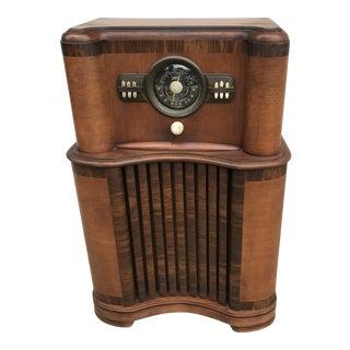 "1941 Zenith ""Wave Magnet"" Floor Model Console Radio For Sale"