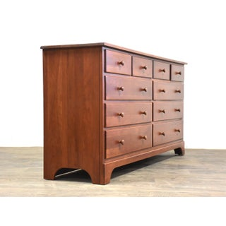 Solid Cherry Long Dresser Preview