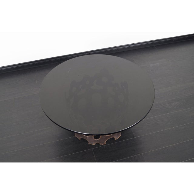 Vintage Bronze Coffee Table For Sale - Image 9 of 10