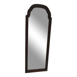 Ethan Allen Georgian Court Slender Hanging Wall Console Mirror For Sale