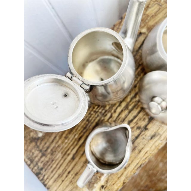 Antique Silver Plated Childs Tea Set From Hotel Lutetia Paris For Sale In New York - Image 6 of 13