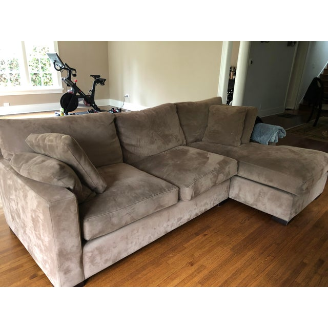 L Shaped couch from Crate and Barrel. Good condition.