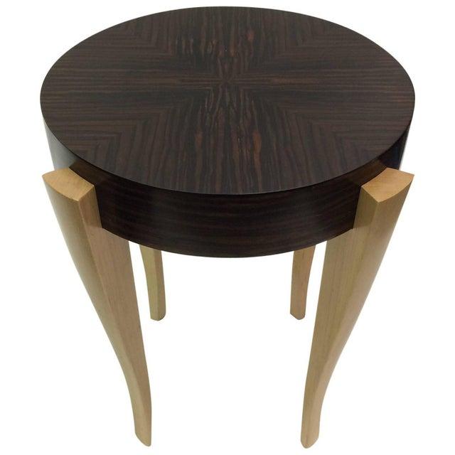 Gueridon Entry Table, Emile-Jacques Ruhlman Style - Image 1 of 3