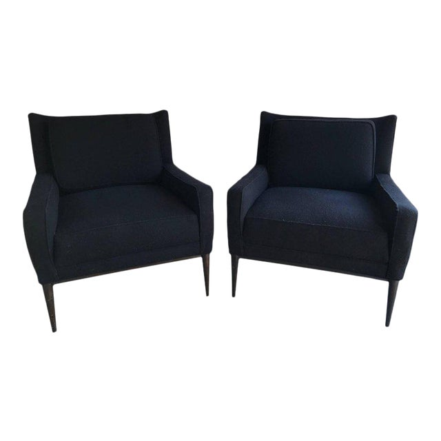 Pair of Lounge Chairs by Paul McCobb For Sale