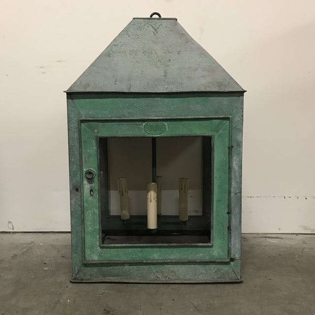 1910s Repurposed English Lantern For Sale In Atlanta - Image 6 of 6