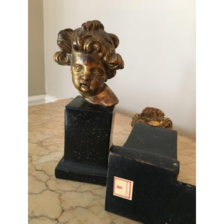 Vintage Borghese Putti Cherub Bookends - a Pair Preview