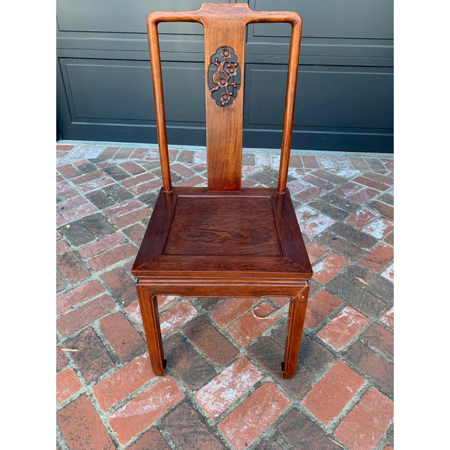 Vintage Solid Rosewood Dining Set - 9 Pieces For Sale - Image 12 of 13