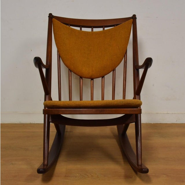 Bramin Danish Rocking Chair For Sale - Image 5 of 11